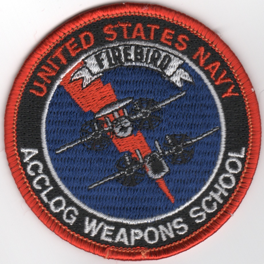 USN VAW ACCLOG Weapons School (Round)