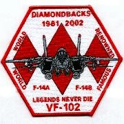 VF-102 Farewell (Hexagon)