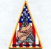 VF-102 OEF Triangle Patch