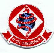 VF-102 Historical Squadron Patch