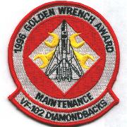 VF-102 1996 Golden Wrench Award