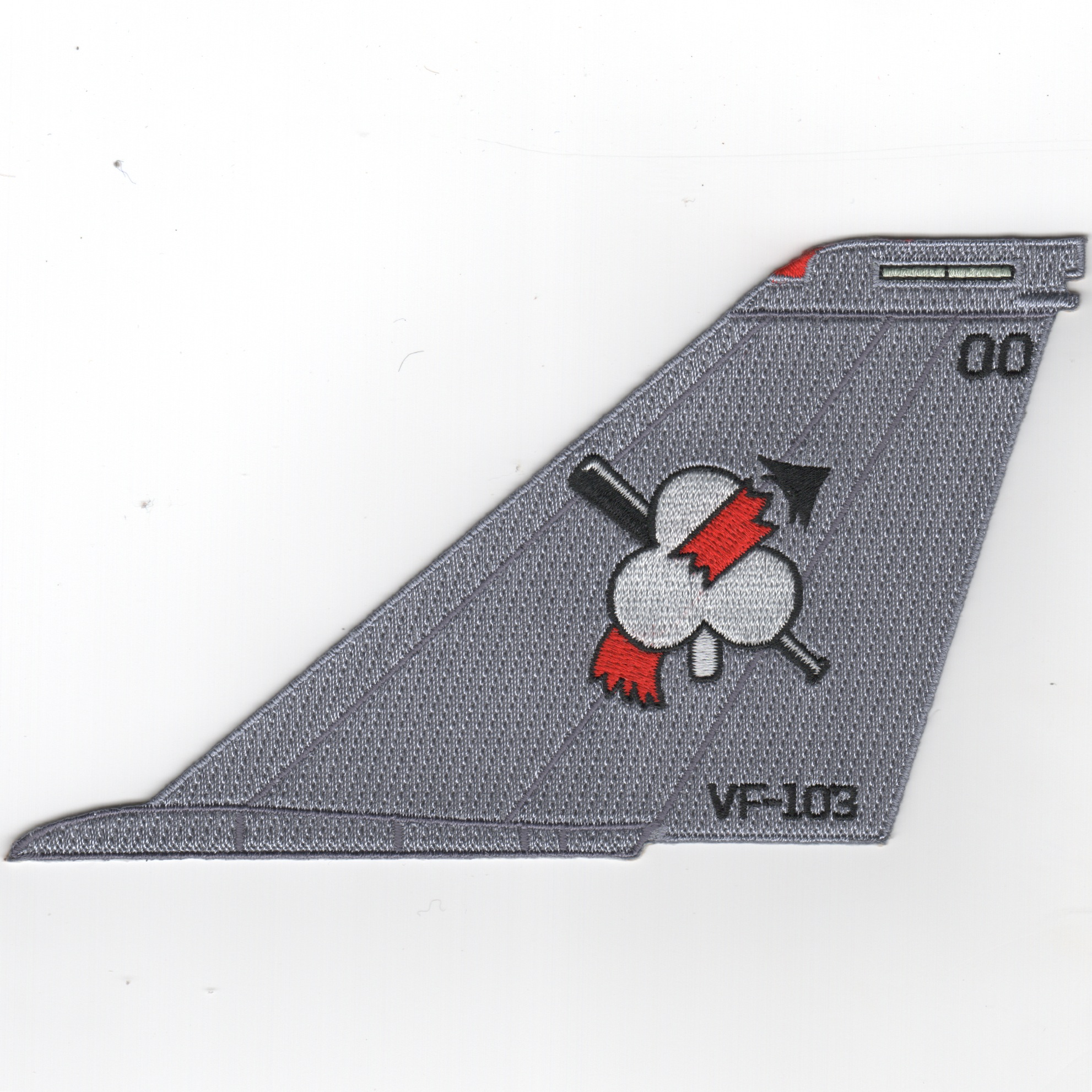 VF-103 F-14 Tailfin (No Text/Light Gray)