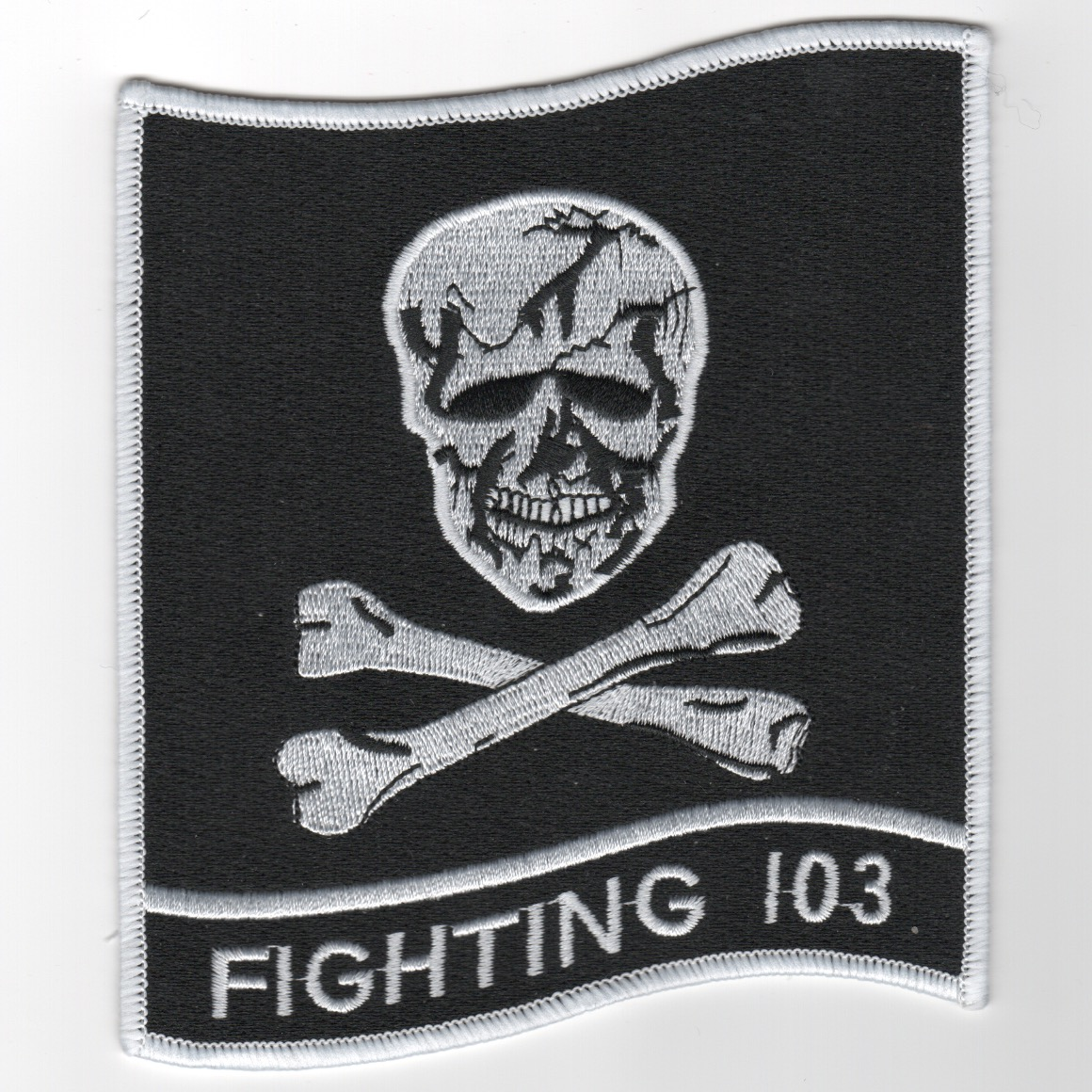 VF-103 'Backpatch' (Large/White Border)