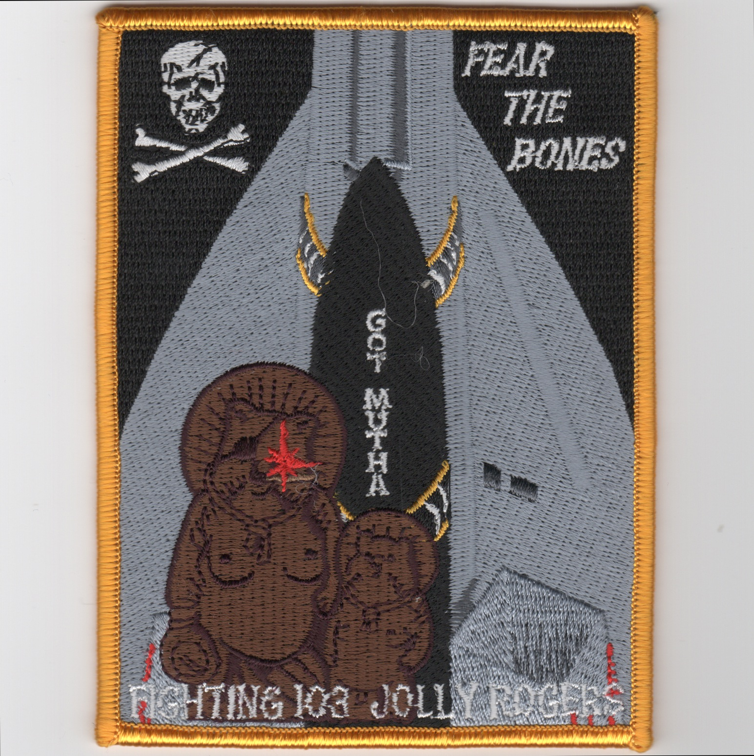 VF-103 'MUTHA' Patch (Square)