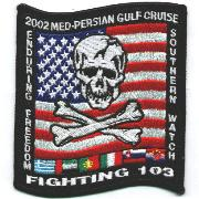 VF-103 OEF/OSW '02 Cruise Patch