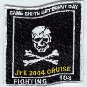 VF-103 'Shiite' Cruise 2004 Patch