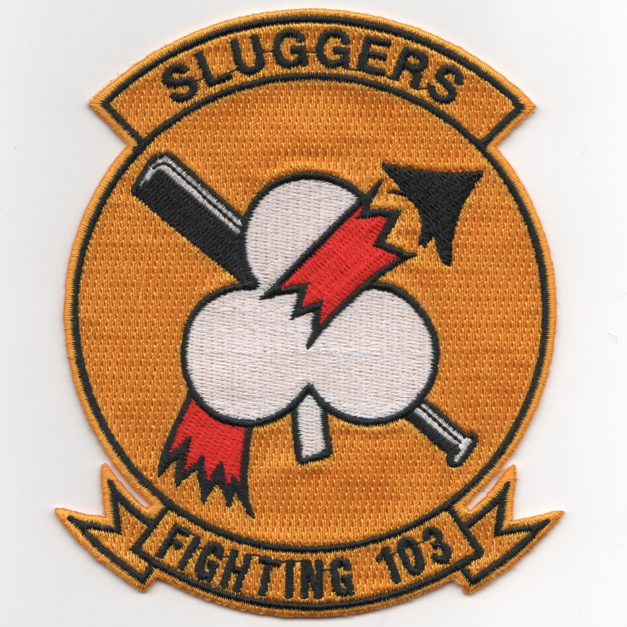 VF-103 Squadron Patch (Historical/Yellow)