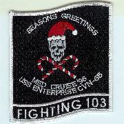 VF-103 1996 Christmas Cruise Patch