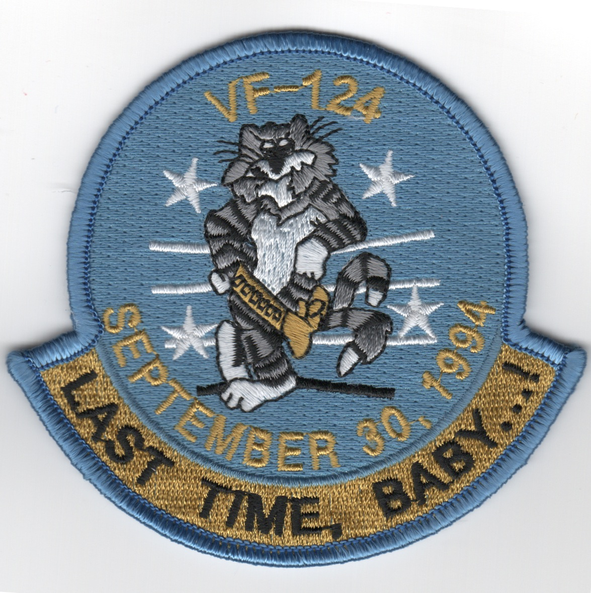 VF-124 'Last Time, Baby' Patch