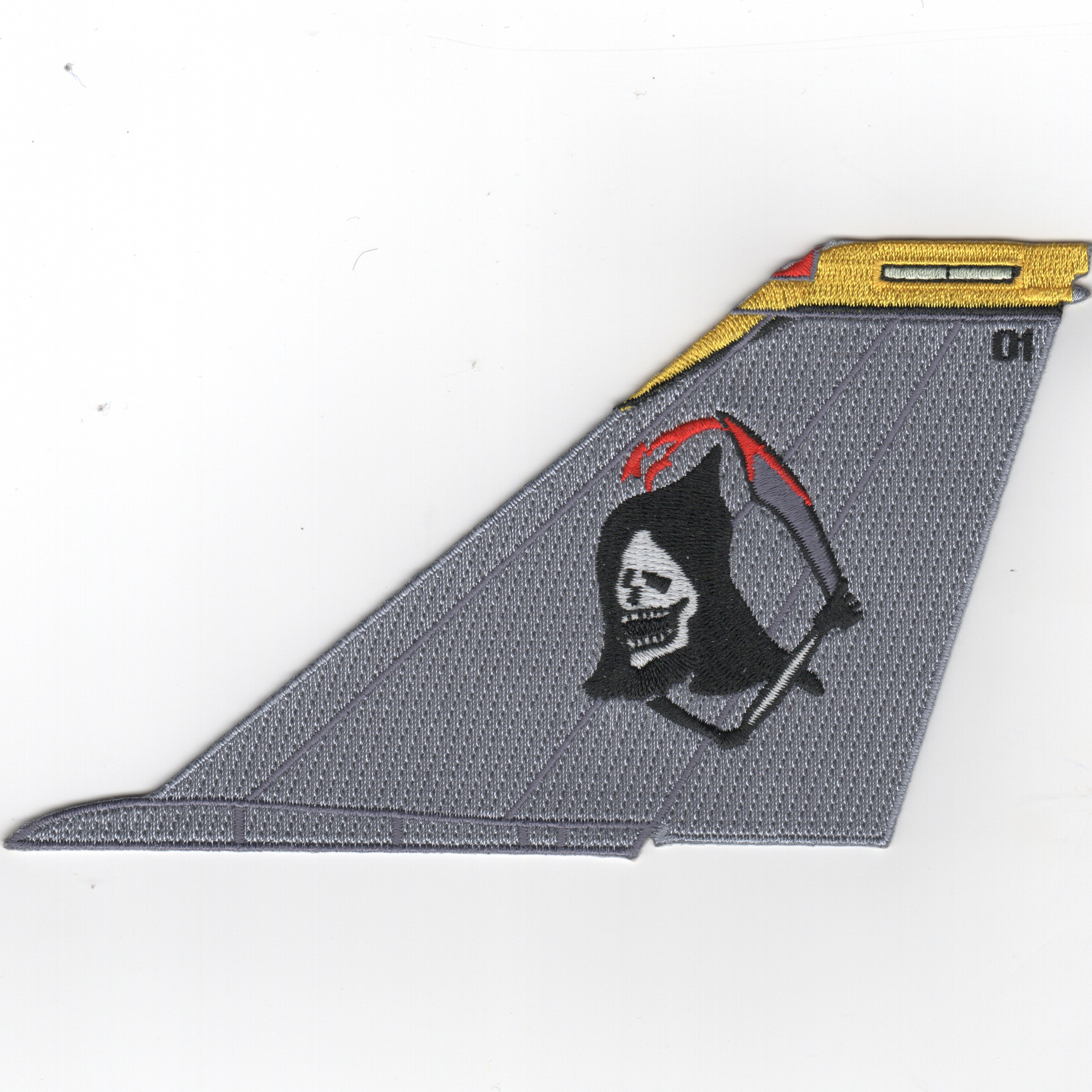 VF-142 F-14 Tailfin (No Text/Grim Reaper)