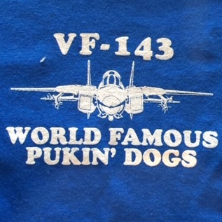 VF-143 Squadron T-shirt (Front Breast)
