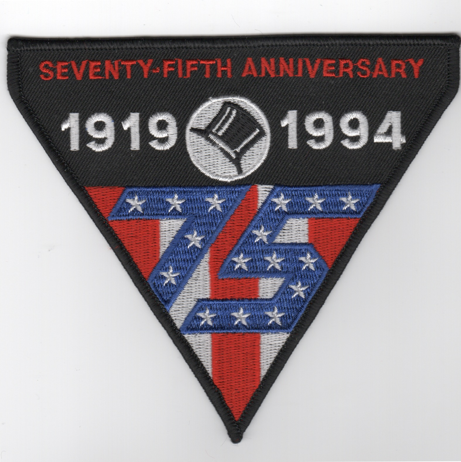 VF-14 75th Anniversary Patch (Triangle)