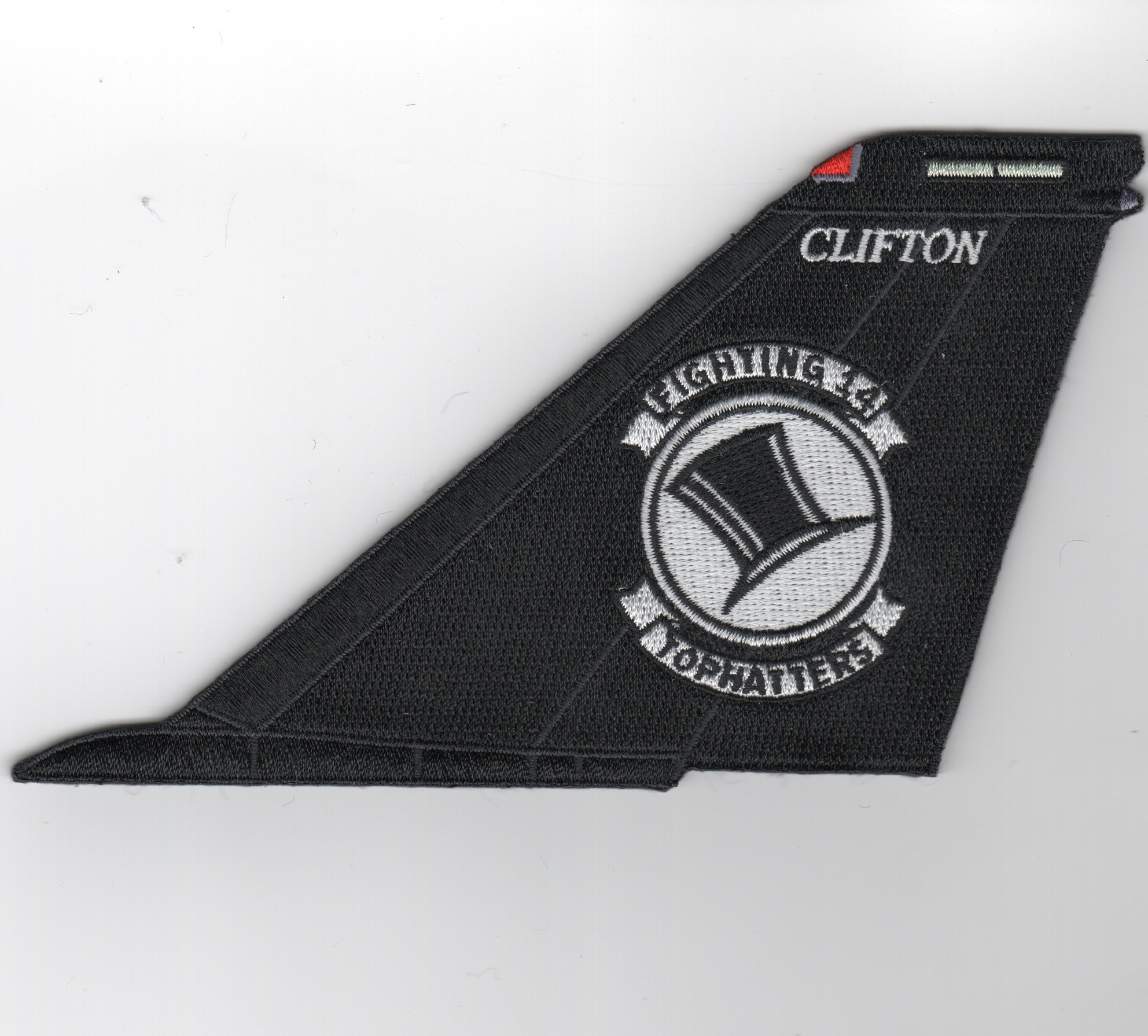 VF-14 F-14 Tomcat Tail Fin (Black/No Text)