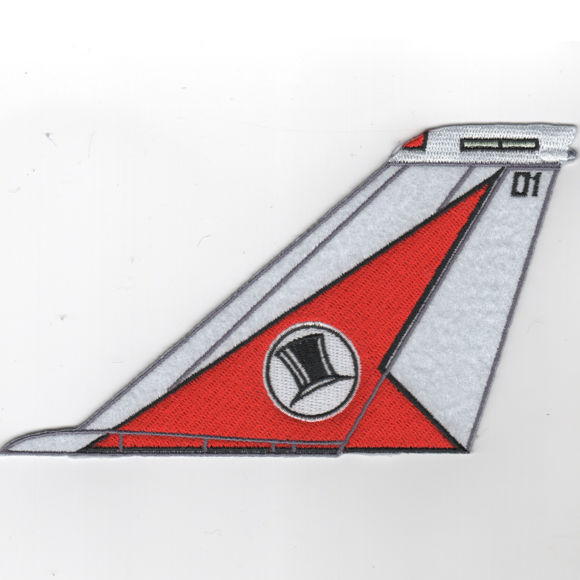 VF-14 F-14 Tomcat Tail Fin (Red/White/No Text)
