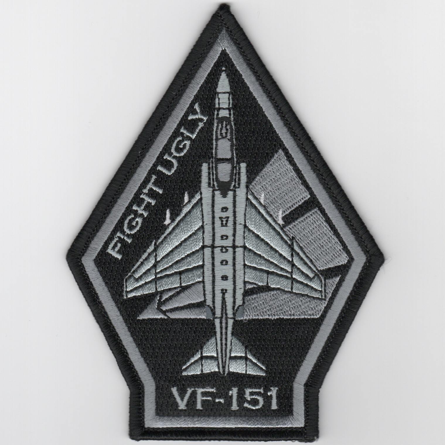 VF-151 F-4 'Coffin' Patch (Black-Gray/No Velcro)