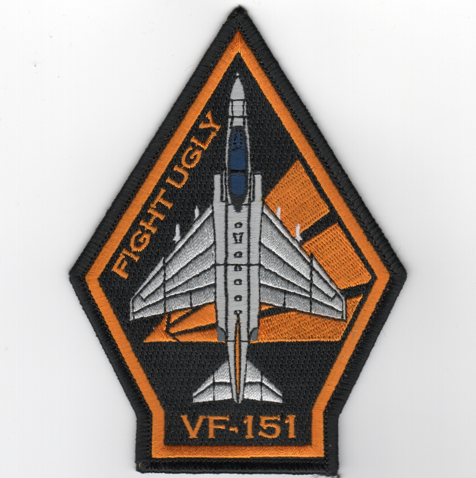 VF-151 F-4 'Coffin' Patch (Yellow-Black/No Velcro)