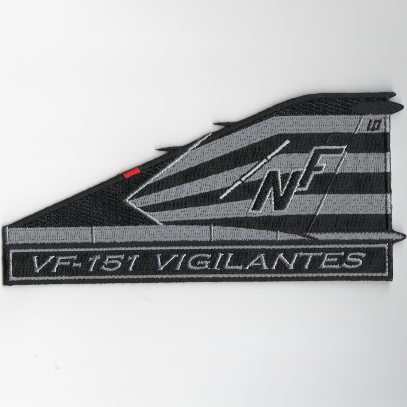 VF-151 F-4 TAILFIN Patch (Blk/Gray)