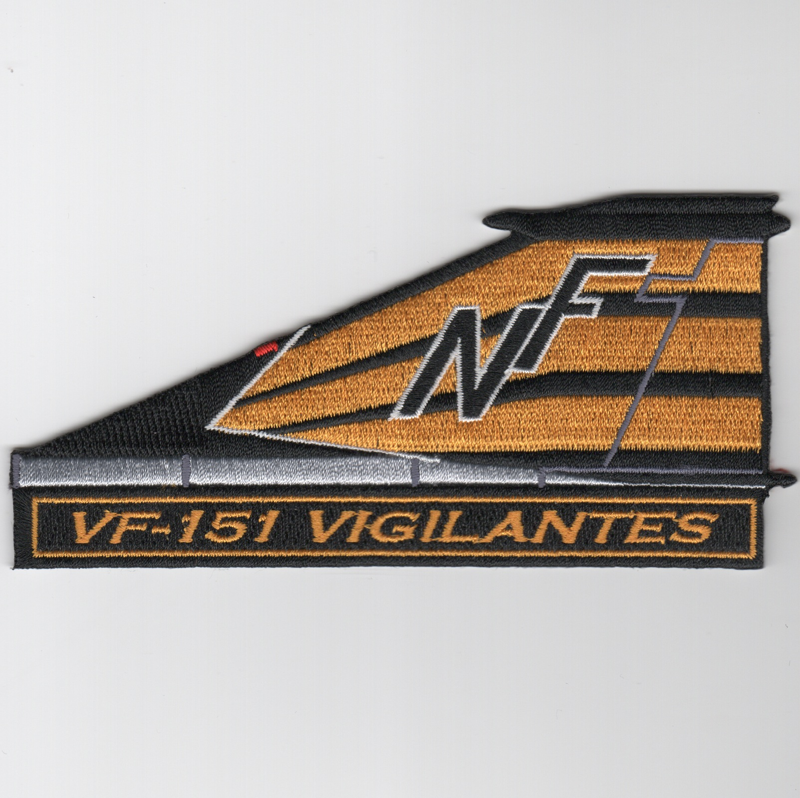 VF-151 F-4 TAILFIN Patch (Ylw/Blk)