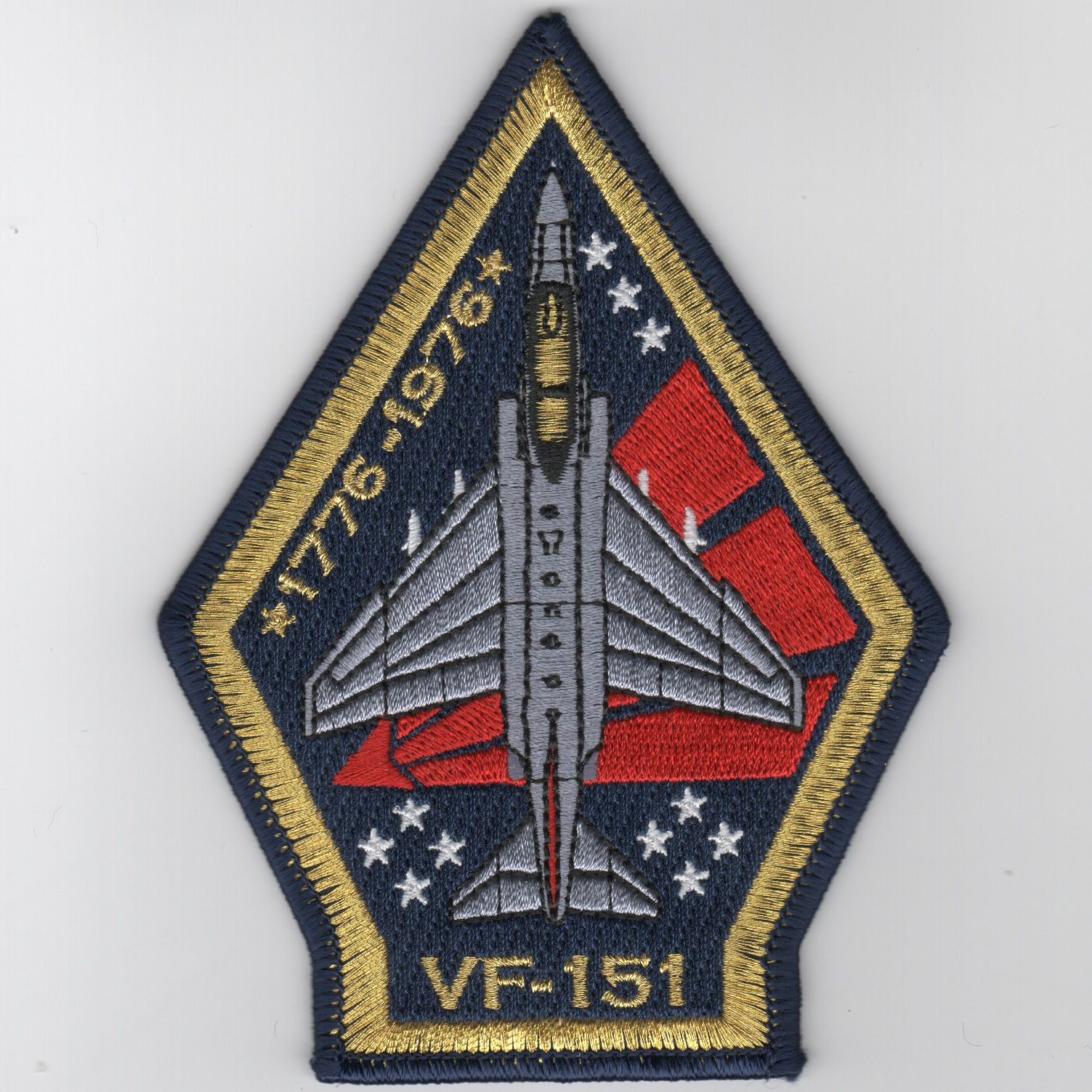 VF-151 F-4 'Coffin' Bicentennial Patch (R/B)