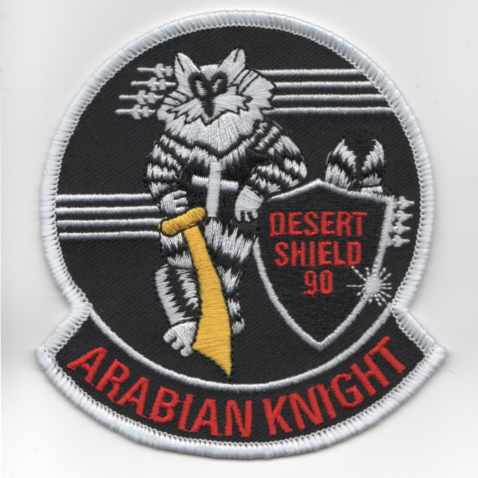 VF-154 'Arabian Knights' Felix Patch (Black)
