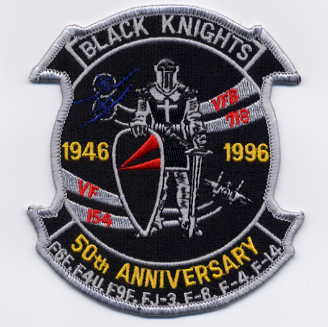 VF-154 50th Anniversary Patch
