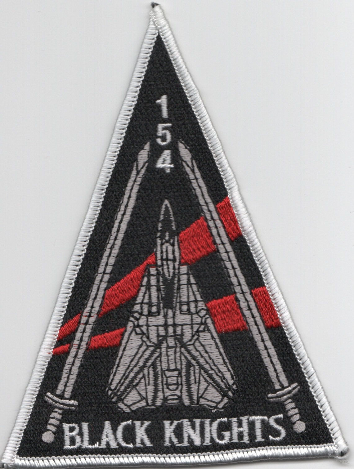 VF-154 NEW Aircraft Triangle (Black)