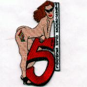 VF-154/CVW-5 'Naked Lady' Patch