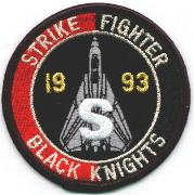 VF-154 1993 Safety 'S' Patch