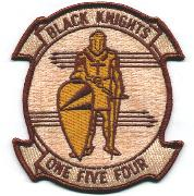 VFA-154 'Historical' Squadron Patch (Desert)