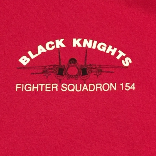 VF-154 Squadron T-shirt (Front Logo)