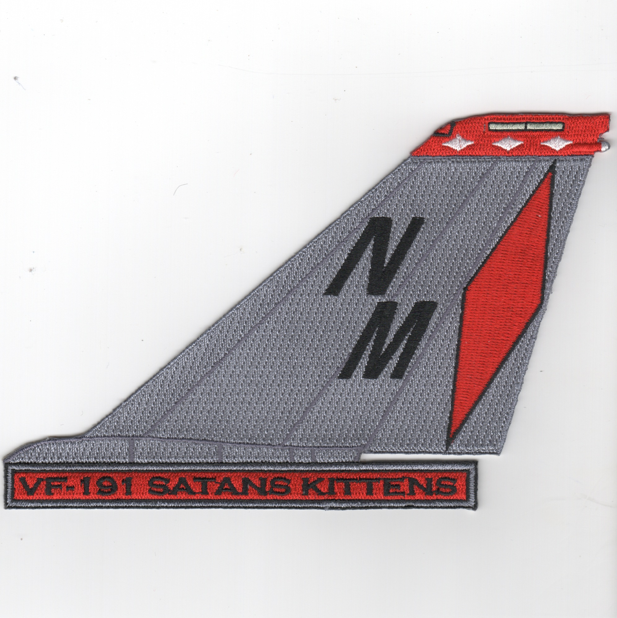 VF-191 F-14 Tailfin (Text/Red Diamond)