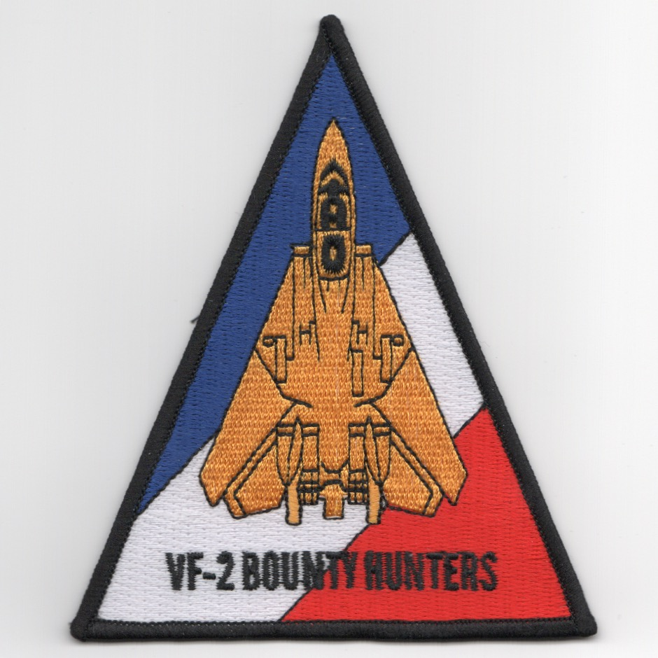 VF-2 F-14 Aircraft Triangle (R/W/B)