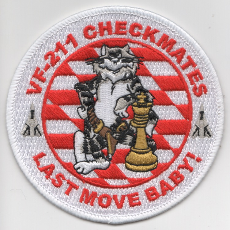 VF-211 'Last Move' Felix Patch (Round)