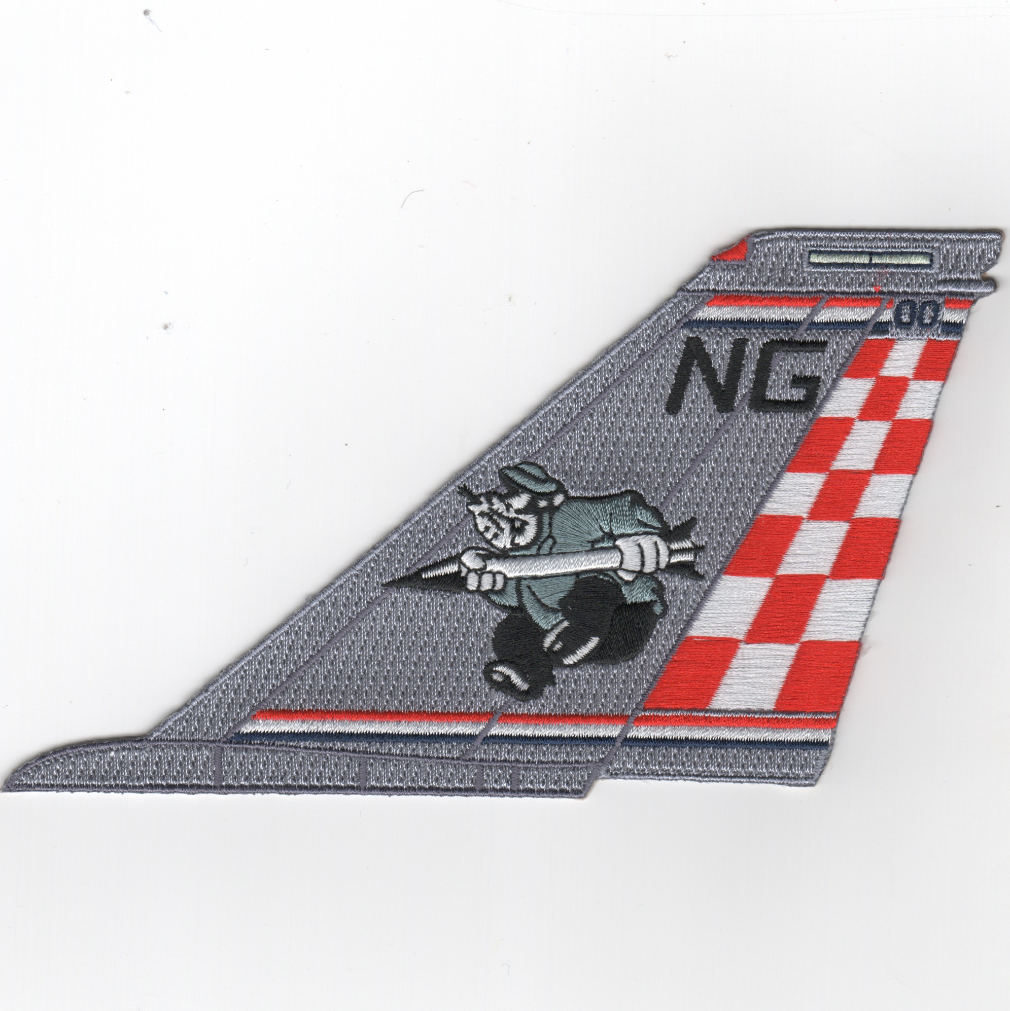 VF-211 F-14 Tailfin (No Text/BRUTUS)