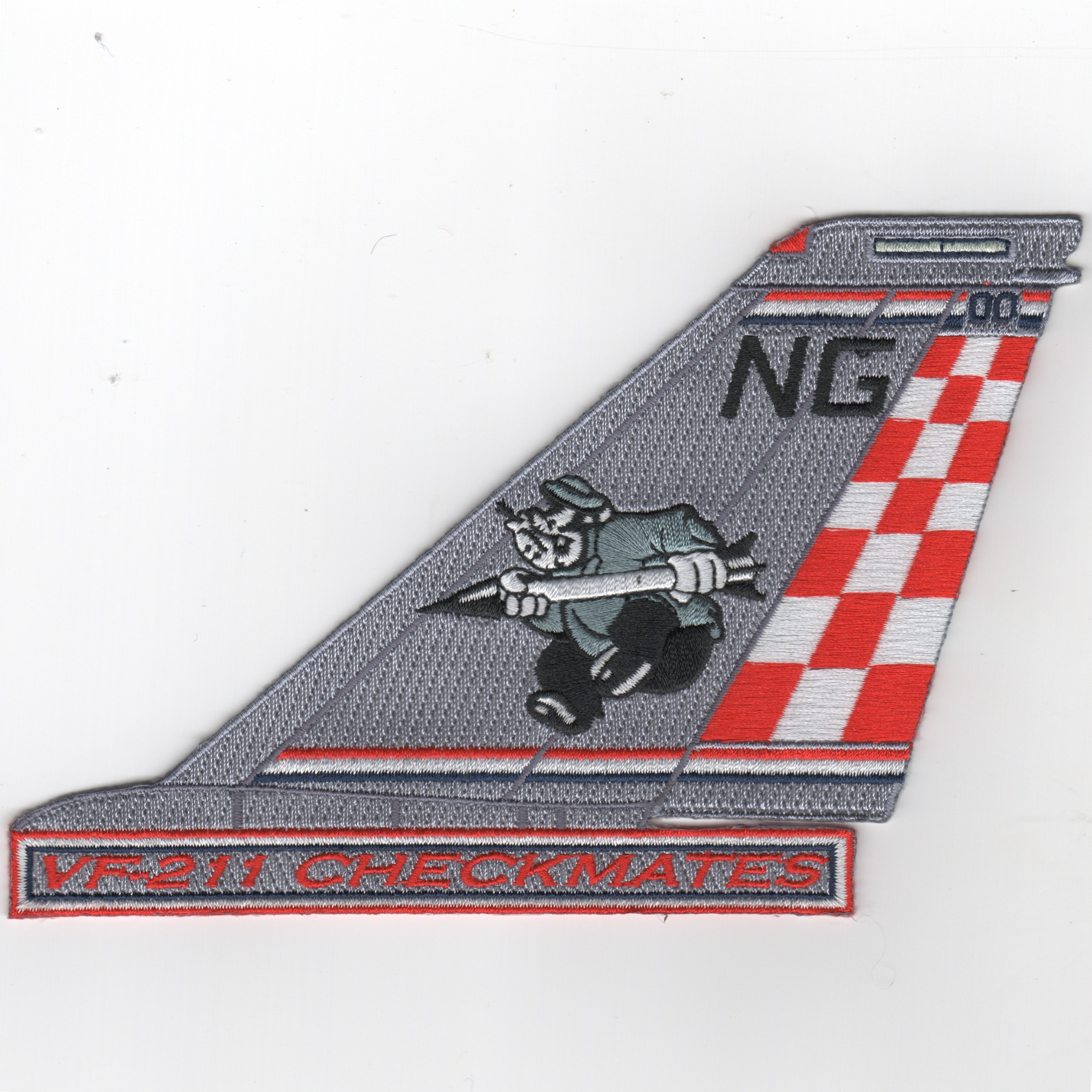VF-211 F-14 Tailfin (Text/BRUTUS)