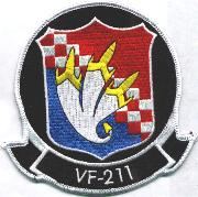 VF-211 '3-Banana' Patch (Black)
