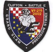 VF-211 2002 Grand Slam/Battle 'E' Patch