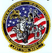 CVN-71/VF-213/VF-31 'Double-D' Last Cruise Patch (Sm)