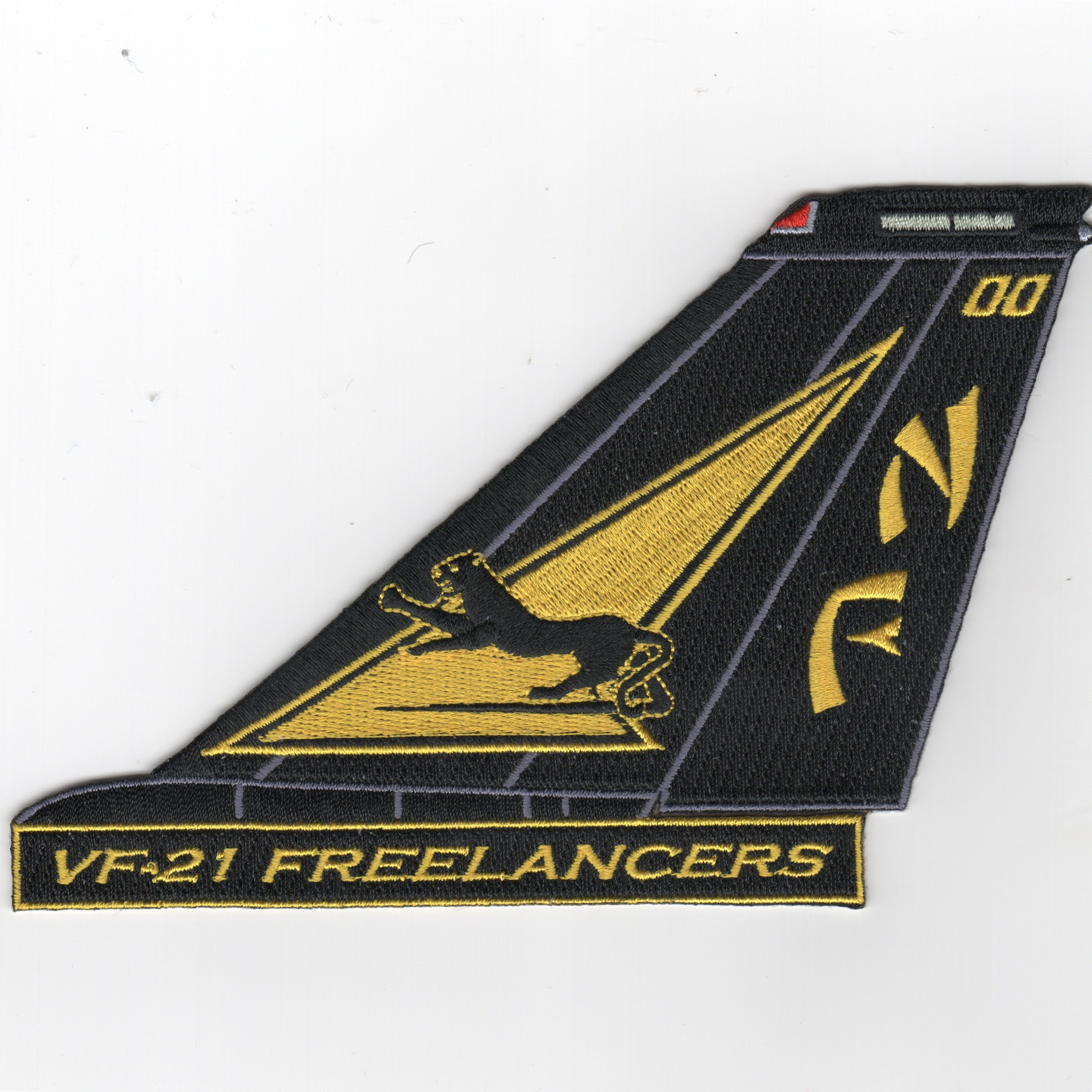 VF-21 F-14 Tomcat TailFin (Text)