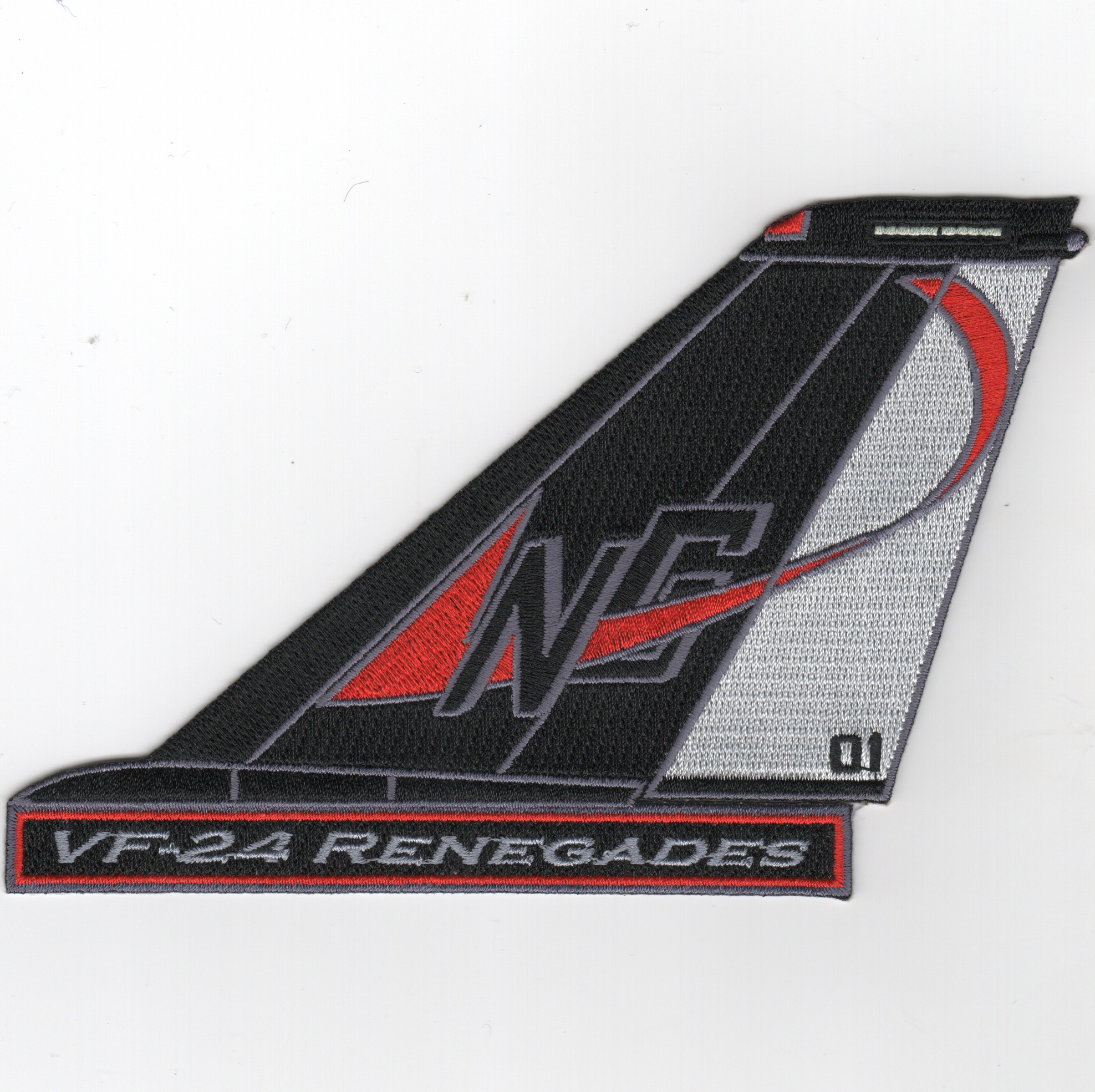 VF-24 F-14 Tomcat TailFin (Text)