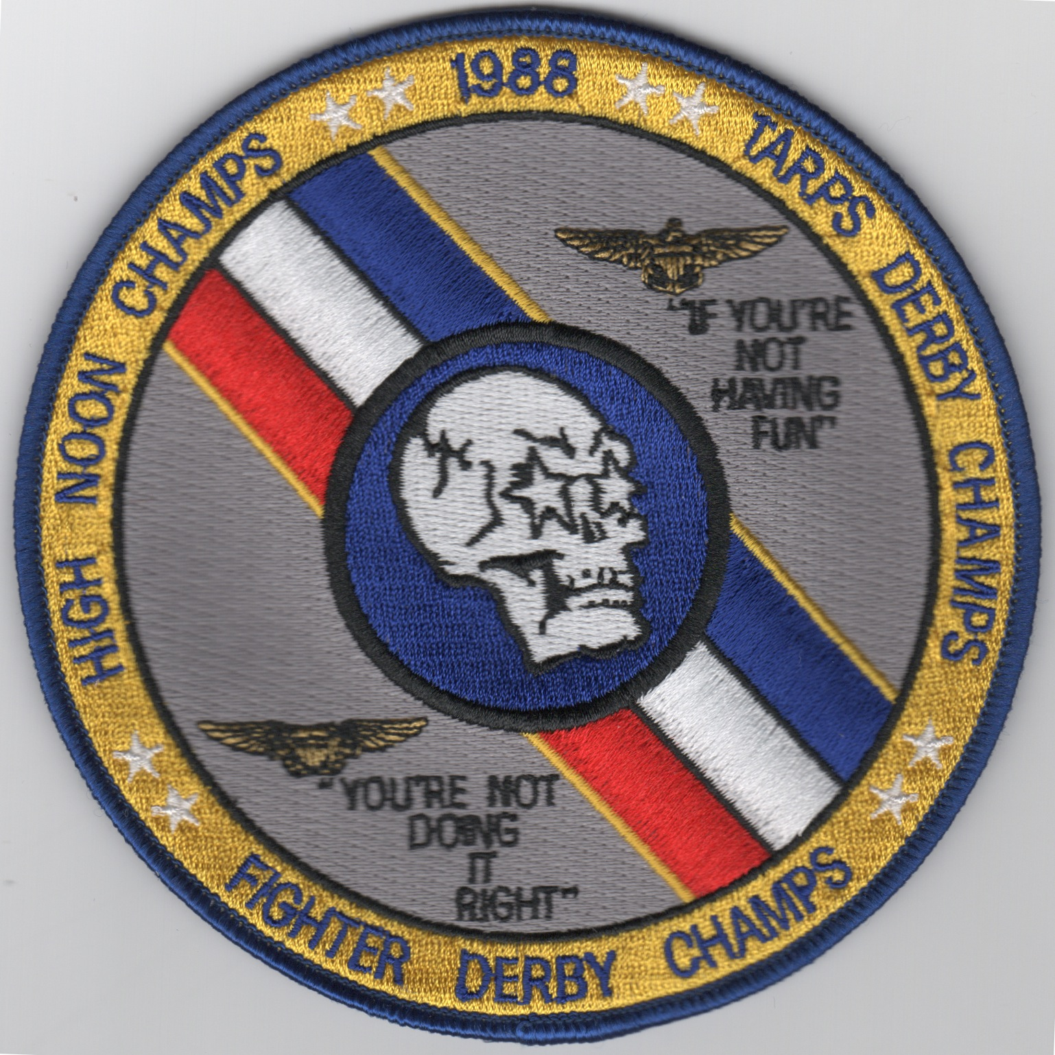 VF-2 1988 TARPS Derby Champs Patch