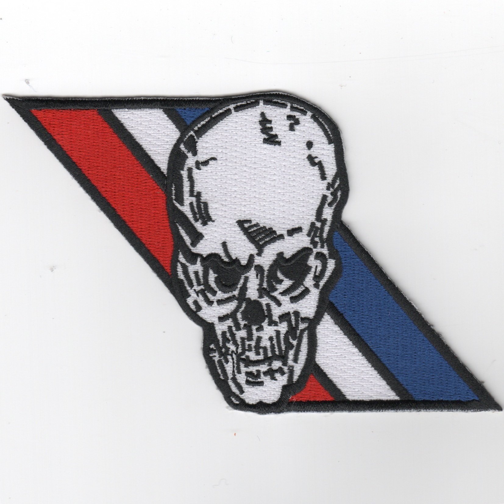 VF-2 'Skull' (R/W/B Stripes) Patch