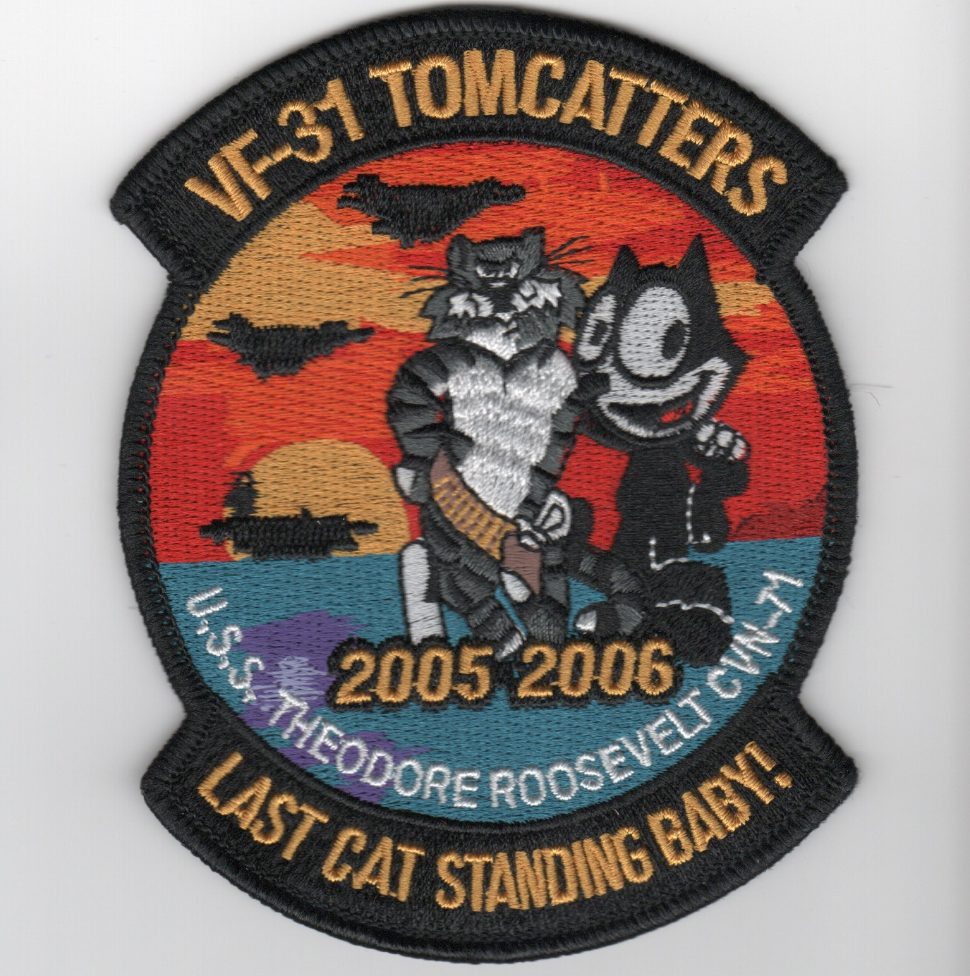 VF-31 'Last Cat Standing' Cruise Patch