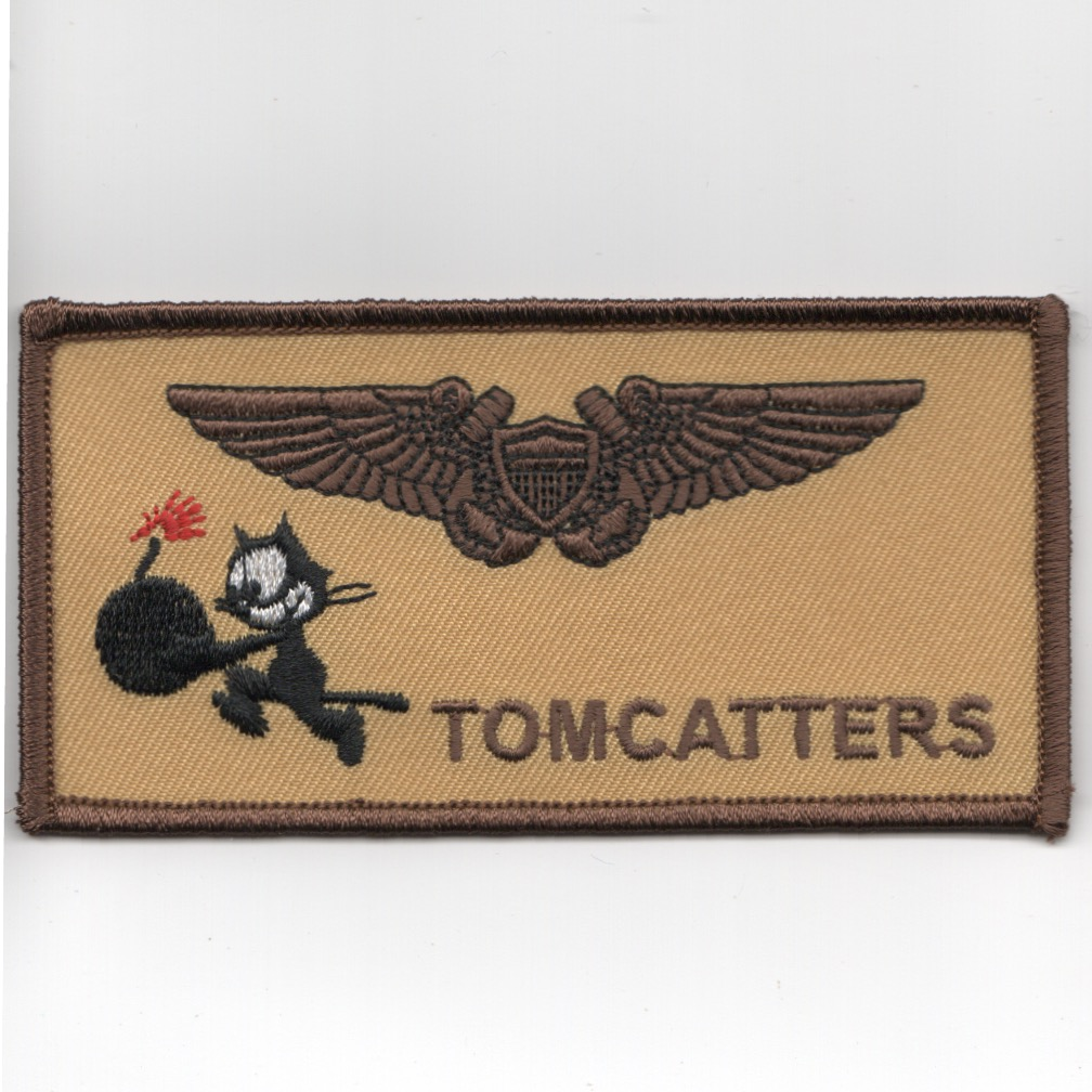 VF/VFA-31 NFO/WSO 'TOMCATTERS' Nametag (Des)