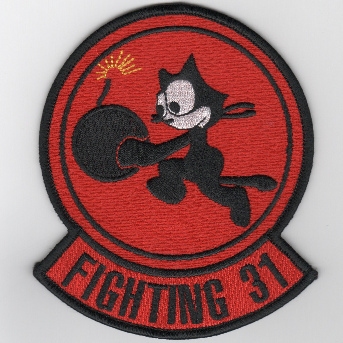VF-31 Squadron Patch (Red)