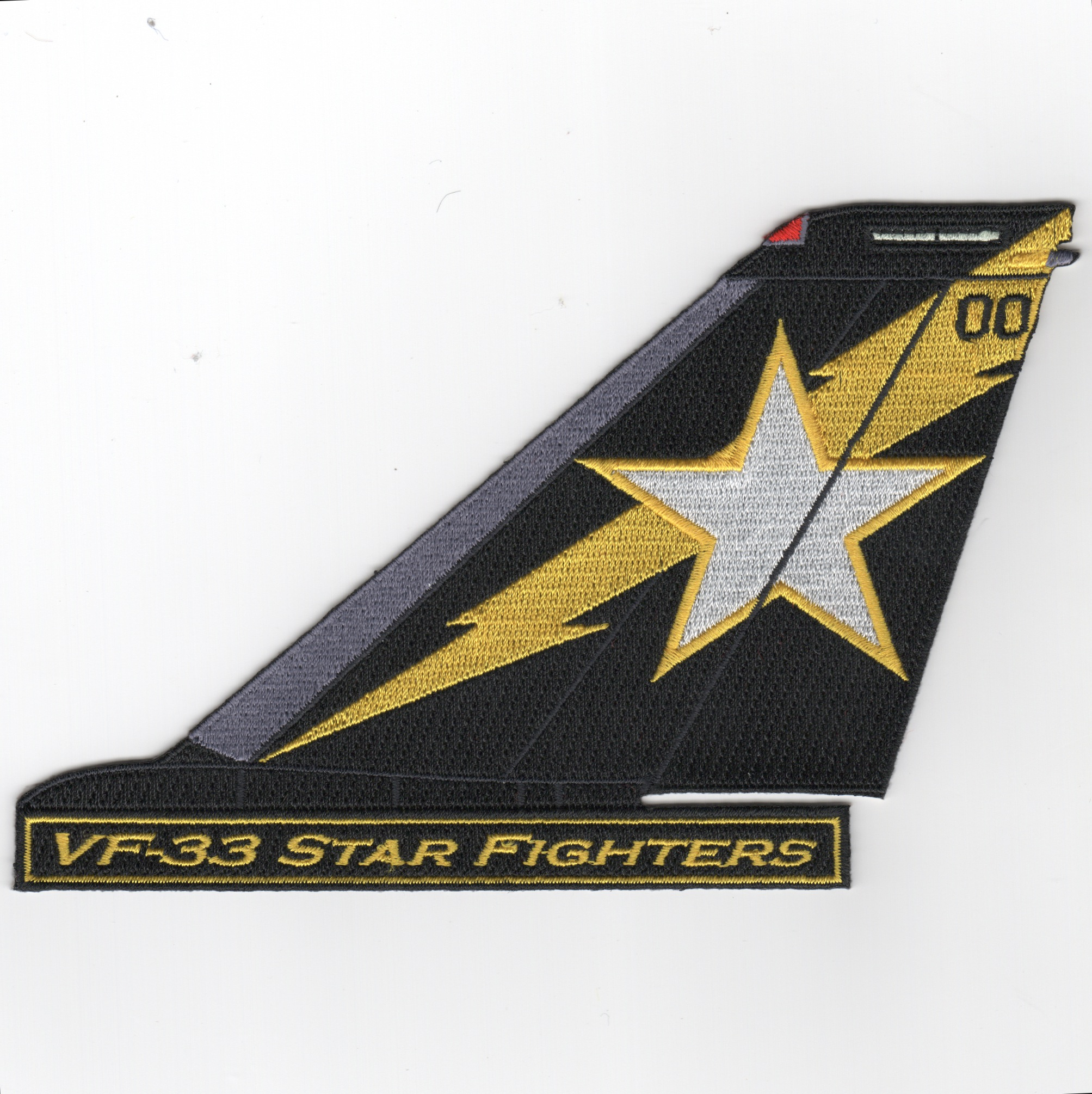 VF-33 F-14 Tailfin (Text)