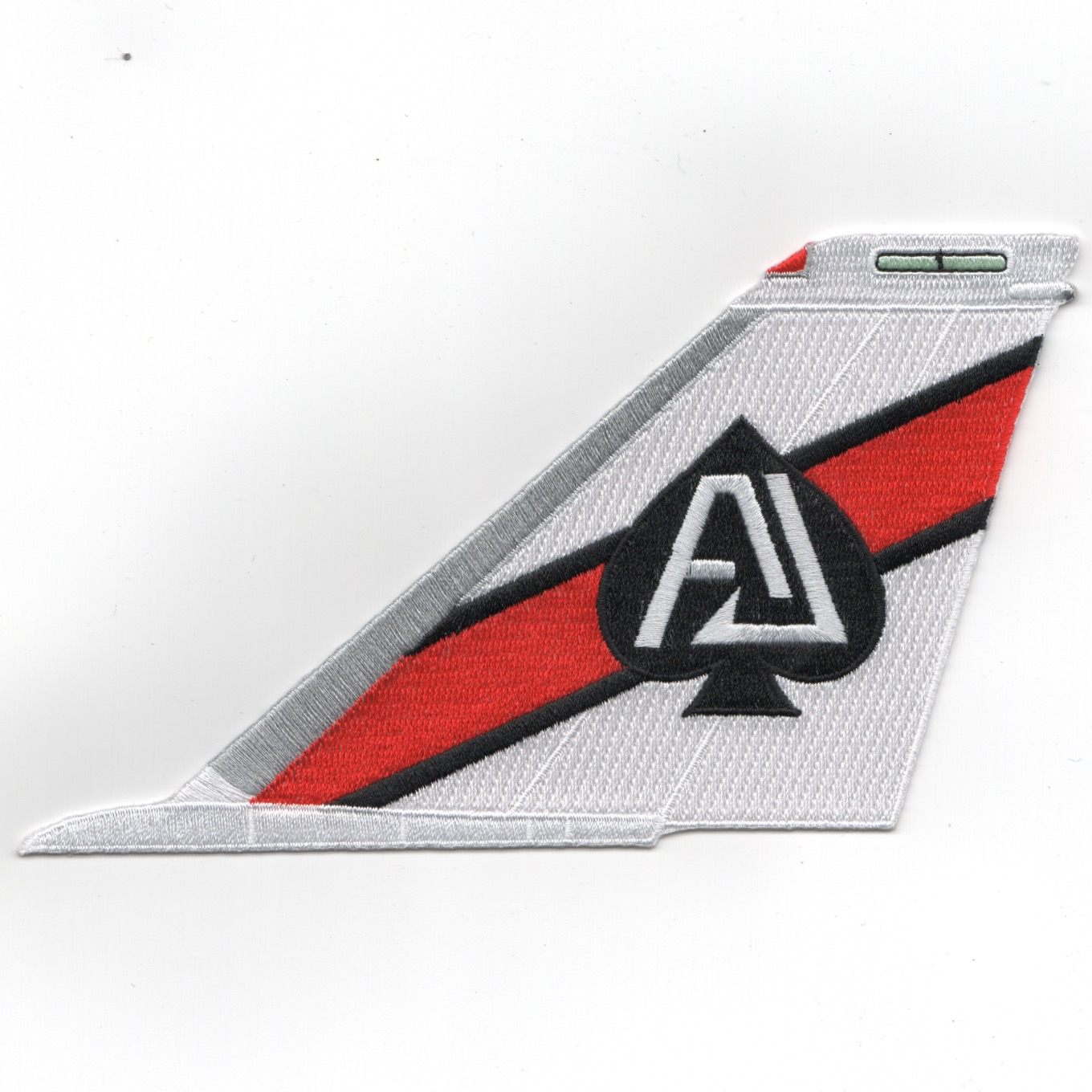 VF-41 F-14 'AJ' Tail (Red-White/No Text)