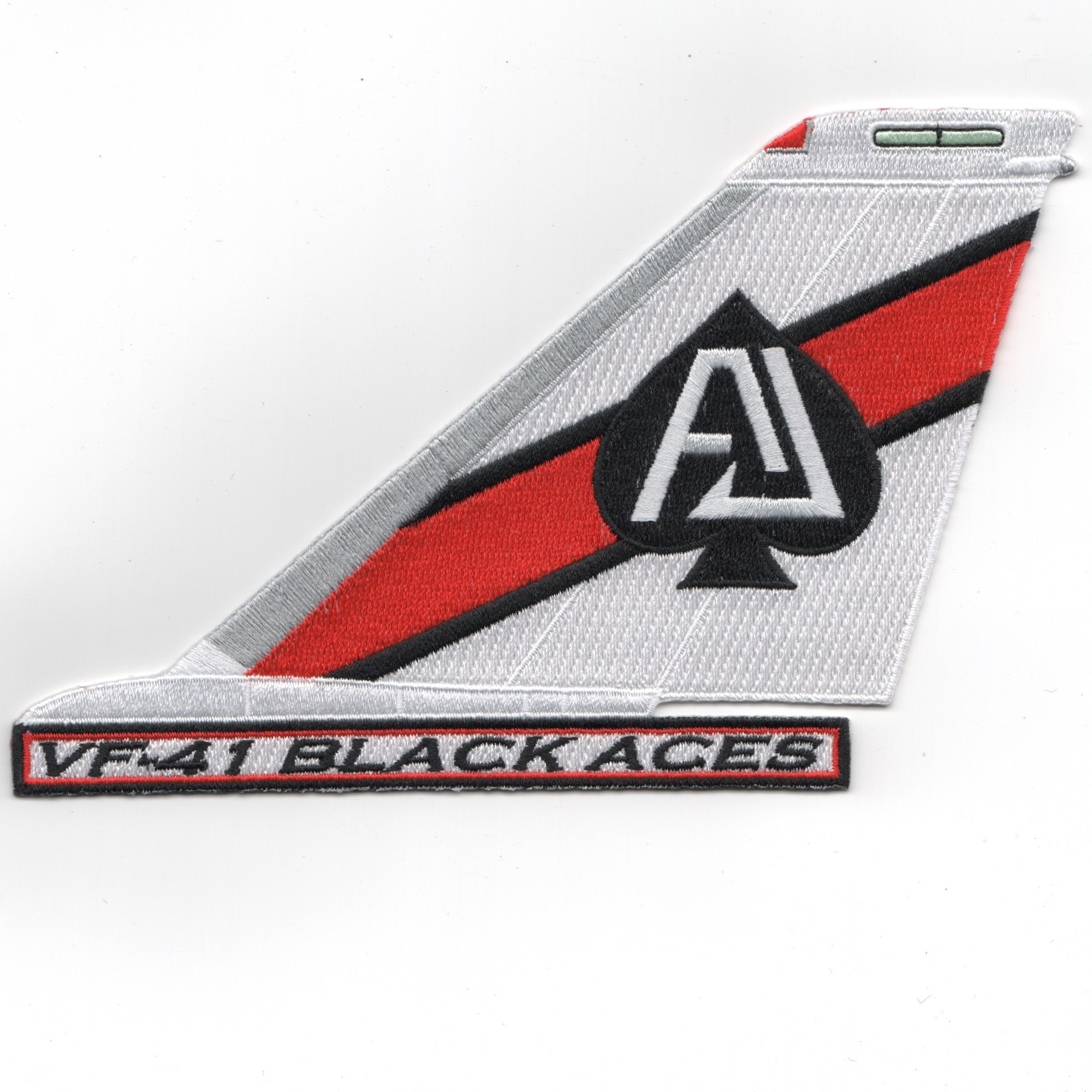 VF-41 F-14 'AJ' Tail (Red-White/Text)
