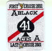 VFA-41 'First/Last' Cruise Patch