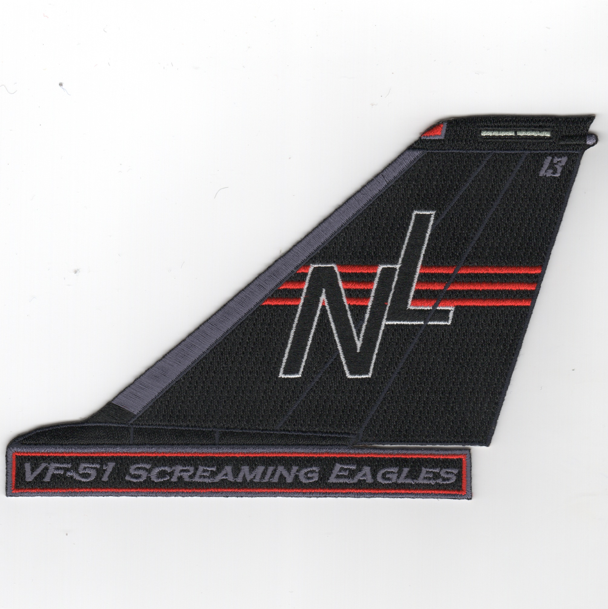 VF-51 F-14 Tomcat TailFin (Text)